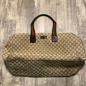 Authentic Gucci Duffle ! Pre-Loved
